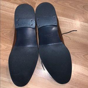 Johnston & Murphy Shoes - Johnston & Murphy brown leather  shoes size 11 EUC